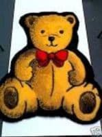 Faux Fur Fabric Rug - Gold Teddy
